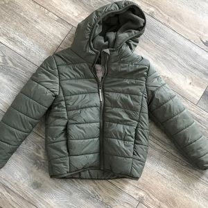 Cat & Jack 5T Hunter Green Puffer